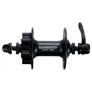 *NABLA PREDNJA SHIMANO DEORE HB-M475-L, 32H, OLD 100MM, AXLE 108MM, QR 133MM BLACK, FOR ROTOR 6-BOLT, BLACK, IND.PACK