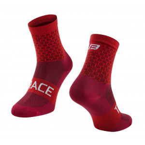 Čarape FORCE TRACE, crvene L-XL/42-47