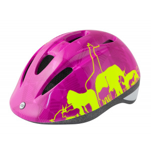 KACIGA DEČIJA FORCE FUN ANIMALS fluo-pink S