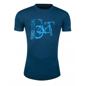 Majica FORCE FLOW kratki rukav, plava XL.