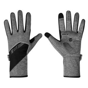 Rukavice F GALE softshell, zimske, siva L
